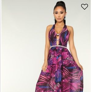 Grow With The Flow Tropical Dress
